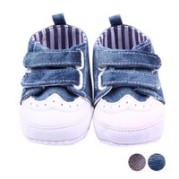 Wholesale Low Price Toddler Shoes - Wholesale- Newborn Baby Shoes Infant Baby Spring Autumn Boys Gir Toddler First Walkers Canvas Shoes Sneaker Soft Bottom Lowest Price