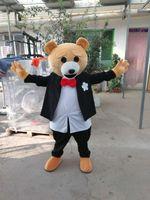 Wholesale Teddy Bear Mascot Costumes - Teddy Bear Mascot Costume free shipping