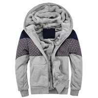yün kukuletalı hoodies toptan satış-Chandal Hombre Yün Astar erkek Kapüşonlu Tişörtü Marka erkek Giyim Kış Hoodies Rahat Eşofman Moleton Masculino 2016