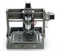 pcb cnc makinesi toptan satış-USB PCB CNC 3 Eksen Freze Oyma Makinesi 300 W 2020B DIY CNC Ahşap Oyma PVC