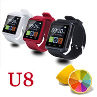 Wholesale Galaxy S3 Watch - Fashion Bluetooth Smart Watch U8 For Samsung Galaxy S3 S4 S5 For Android phone Wrist Watch