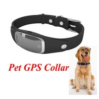 Wholesale Gps Dog Collars - S1 Pet GPS Collar Mini Waterproof Silicon Pets Collar GPS Tracker GPS+LBS+WIFI Locator for Dog Cat Tracking Geofence Free APP Ann