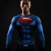 Wholesale Running Man Costume - Compression Shirt Running Shirt 3D Printed T-shirts Men Raglan Long Sleeve Cosplay Costume Clothes Male Tops For Halloween