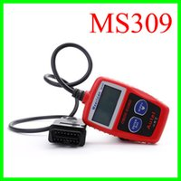 Wholesale Diagnostic Scan Tool Eobd - MaxiScan MS309 Autel OBD 2 Code Scanner OBD II EOBD Scan Tool Car Code Reader Fault Diagnosis Instrument For Vehicle Detection Instrument