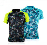 Wholesale Girls Tennis - New 2016 Li-Ning table tennis sportswear ,Li-ning table tennis shirts sports Jersey , Women Men soprtswear Badminton T-Shirts 2097AB