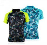 camisa de badminton venda por atacado-New Li-Ning sportswear 2016 ténis de mesa, Li-ning camisas de ténis de mesa esportes Jersey, Mulheres / Badminton Camisetas masculinas soprtswear 2097AB