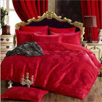 Wholesale King Rose Jacquard Comforter - 2017 European style the royal cotton jacquard home textile
