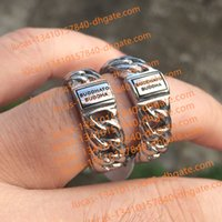 Wholesale Fashion Netherlands - Classic Style Netherlands Ring Brand TO Buddha 925 Sterling Silver Bracelet Jewelry Fashion Ring for Men Perfect Big Drop Shipping Hot Sell