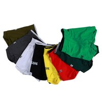 Wholesale Mens Novelty Underwear Wholesale - 2016 New Casual Underwear Boxer Brand WJ Skull Printed Men Underwear Mens Cotton Home Shorts Soft Sleepwear Underpants 8 Colors