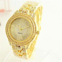 Wholesale Gold Rose Michael - Luxury Expensive Watches Women's Michael Watch Quartz Watches Rose Gold and Silver with Created Diamond Fashion Watch Wholesale Free Shippin