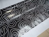 Wholesale circles car online - Black white Circle style Camoufalge Vinyl For Car Wrap Film With air bubble free CAMO film for Truck boat graphics Foil X30M x98ft