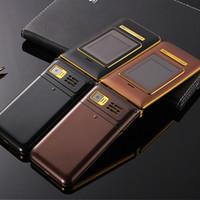 yeni çift sim tv mobile toptan satış-Yeni K558 çift high-end kapaklı cep telefonu çift kart çift bekleme HD boynuz Alüminyum Alaşım işçilik fabrika doğrudan satış
