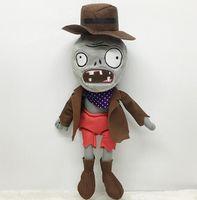 zombi oyunları toptan satış-Zombies Yumuşak Peluş Oyuncak Oyunları Yumuşak Dolması Hayvan Oyuncaklar Yaratıcı Hediyeler Bitkiler vs Zombies Peluş Noel Doldurulmuş Hayvanlar Doll