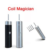 Wholesale Pole Electrical - Coil Magician Electrical Coil Jig Tool Heat Wire Rolling Automatically Coil Jig for RDA RTA with 4 coiling poles DHL FJ706