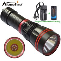 Alonefire DX1S 1SET Mergulhador lanterna LED tocha cree xm-l2 constante corrente 26650 baterias recarregáveis ​​Underwater Diving Light Lamp
