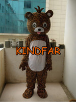 Wholesale New Style Mascot Costumes - Wholesale-NEW STYLE TIGER MASCOT COSTUME Adult Size Fancy Dress Cartoon Character Party Outfit Suit Free Ship