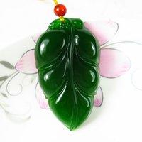 Wholesale Jade Leaves - de jade pendant military pendant leaves