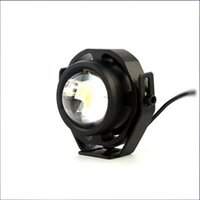 Alta calidad impermeable 10W LED coche niebla lámpara brillante estupendo 1000LM IP67 Eagle Eye coche niebla diurna corriendo luces 2pcs