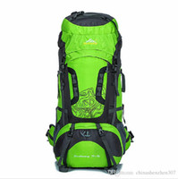 Wholesale 75l Outdoor Bag - 80L Outdoor Professional Mountaineering Bags Spike Large Capacity Sports Backpack Waterproof Wear Travel Bags