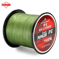 Wholesale Poseidon Fishing Brand Line - ishing Fishing Lines SeaKnight Brand 300M Tri-Poseidon Series Super Strong Japan PE Spectra Braided Fishing Line Fishing Tackle Fish Line...