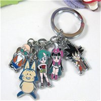 Wholesale Keychain Dragon - 1PC Best Seller Japan Anime Dragon Ball Z Zinc Alloy Metal Keychain Pendants Keyring Key Chain For Men Women As Christmas Gift M142
