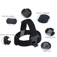 Wholesale camera mounts xiaomi online - For Action camera Accessories Head Strap Chest Harness Mount For SJ4000 xiaomi yi K SJCAM EKEN H9 H9R