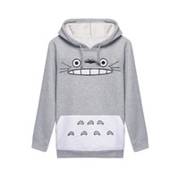 Wholesale Hoddies Women - Best Sellers Woman Totoro Cartoon Printing Long Sleeve Even Midnight Set Hoddies Women Shirts Man Sweatshirt Clothes 3d Tshirt Sport Suit