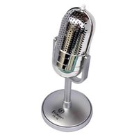 Wholesale Old Microphones - Professional Wired Vintage Classic Microphone Omnidirectional Capacitance Mike Vocal Old Style Computer  Conference  KTV MIC