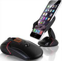 huawei lenovo toptan satış-Yaratıcı Dashboard Araç Telefonu Standı Tutucu Tek Dokunmatik Fare Vantuz Cradle Huawei P7 P8 P9 Lite Için Lenovo P780 P70