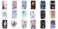 Wholesale Iphone Wallet Eiffel - For Iphone7 Iphone 7 I7 7th Plus Dreamcatcher Flower Wallet Leather Eiffel Tower Don't Touch My Phone Owl Case Pouch Stand Flip Cover+Strap