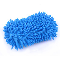 Wholesale Car Wash Auto Hand Soft Towel Ultrafine Fiber Chenille Anthozoan Car Wash Gloves Microfiber Car Motorcycle Supplies Care Brushes