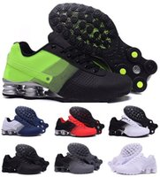 Wholesale China Latest Shoes - Latest Air Shox Deliver Running Shoes Men Man Men's Green Shoxs NZ Current Trainers Shoes Original Zapatilla Homme China Brand Sports Sneake