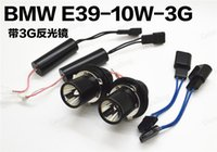 Wholesale E87 Led - Free shipping LED Marker Angel Eyes White Light Lamp 10W 12V LED Angel Eyes Bulb for BMW E39 E53 E61 E64 E65 E66 E87 canbus led