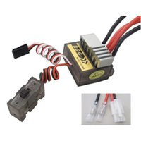 Wholesale Buggy Boat - HSP 320A Brushed Speed Controller ESC for 1 10 RC Car Truck Buggy Boat