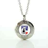 Pendant Necklaces sport necklaces for kids - The fashion Souvenirs jewelry gift locket necklace Daom Rugby Newest mix sport team necklace for children and kids NF016