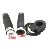 Wholesale Grips Supplies - grip supplies Handlebar Throttle Grips W  Kill Switch Fits 49cc 66cc 80cc Motorized Bicycle grip cane