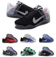 Wholesale Ep Racing - HOT Kobe 11 Basketball Shoes Sneakers Mens Womens Kids White Bryant Kobes XI Elite Sports KB 11s EP Trainer Sports Shoes Size:5.5-12