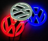 Wholesale Car Styling D LED Logo Light for VW Polo Passat B5 B6 Golf Jetta MK6 Tiguan Scirocco Beetle High Quality