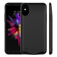 Wholesale iphone charger case online - 5000Mah Power Bank Charger Case Cover Mobile Phone Backup Battery for iPhone Plus Plus iPhone with Package