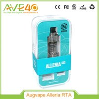 Wholesale Glass Chimneys - 100%Authentic ALLERIA Atomizer 3.0ml Glass Chimney Alleria RTA Top Fill System for 200W Box Mod Alleria Sub Ohm System in Augvape