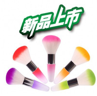 Wholesale Dust Powder Brushes Flocking Remover Cleaner Concealer Foundation Makeup Cosmetic Brushes Manicure Pedicure Tool Nail Art Nail Brush