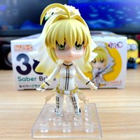 Hot Good Smile Nendoroid 387 # Jogo clássico Anime Fate Stay Night Fate Extra CCC Sabre Bride 10CM Figura de ação