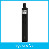 100% Original Joyetech eGo ONE V2 Kit Padrão 1500mAh XL Kit 2200mah Bateria com 2ml eGo ONE V2 Atomizador CL Pure Cabeça Coil 15pcs
