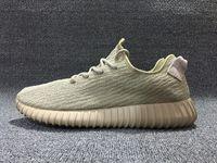 Wholesale Sports Footwear Brands - Wholesale Fashion Brand Mens Boost 350 Pirate Black Running Shoes Footwear Sneakers Kanye West 350 Boost Milan Online Sport Sneakers Shoes