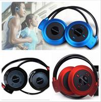 mini-mp3-player kopfhörer großhandel-2016 neue Mini 503 Neckband Sport Drahtlose Bluetooth Freisprecheinrichtung Stereo Headset Kopfhörer Kopfhörer für Mp3 Player