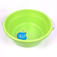 Wholesale Vessel Bowls - Household Basin Medium Plastic Two Handles Wash Basin Gifts Printable LOGO Advertising Endurable Medium Laundry Basins