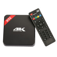 Wholesale New Model Android - 2016 New Model KODIOS android TV BOX H96 PLUS 4K Amlogic S905 EMMC Android 5.1 Tv Box Support 2.4G WiFi Bluetooth4.0 Ethernet 1000MB