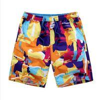 Wholesale Resort Wear Xl - Wholesale-Hot Sales Bermuda Surf Shorts Men Board Short Pants Summer Beach Resort Wear Quick Dry trunks Plus Size L-5XL