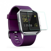 Wholesale Water Bits - Premium Tempered Glass for Fit bit Blaze Screen Protector Smart Watch Protective Film