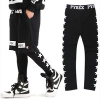 Wholesale Patterns Women Leggings - Wholesale-NEW 2016 Pyrex of men and women in Europe and America street patterns star Elastic Tights Leggings couple GV hip-hop